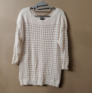 NWOT- Creme Colored Sweater